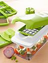 agréable fruits / légumes outils Dicer chopper trancheuse fixés
