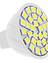 4w gu5.3 (mr16) led spotlight mr16 30 smd 5050 420 lm naturvit dc 12 v