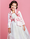 Wedding / Party/Evening Satin Coats/Jackets Long Sleeve Kids Wraps
