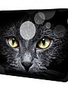 """""""Black Cat Face"""" Mönster Nylon Material Vattentät Sleeve fodral för 11 """"/ 13"""" / 15 """"Laptop & Tablet"""