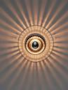40W Modern Konstnärlig Wall Light med glas skugga Ray of Light Feature