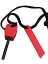 De magnésium de survie bâton avec corde en nylon et allumage de fer (couleur aléatoire)
