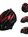 2013 Nouvelle Matériaux de PC conçu ajustable noir mat et rouge Casques de vélo (23 Vents)