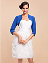 Wedding  Wraps Coats/Jackets 3/4-Length Sleeve As Picture Shown Wedding / Party/Evening T-shirt Open Front