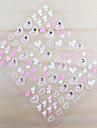 5PCS 3D Nail Art Stickers hjärta