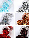 1PCS Nail Art Glitter Powder Dust Décoration No.1 (couleurs assorties)