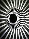 3W Contemporary Led vägglykta med spridning av ljus Design UFO Runda Palisade Body
