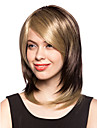 Capless Short Light Blonde Synthetic Hair Wig