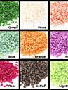 200PCS Bébé perle Nail Art Décoration strass 2mm (couleurs assorties)
