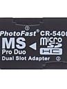 Micro SD / TF Memory Stick PRO Duo-läsare cr-5400 (två färger)