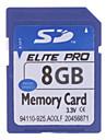 8gb salut-vitesse Elite Pro carte mémoire SD (bleu)
