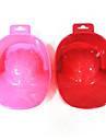 1PCS Pulver Nail Art Hand Ta Tvätta Soak Bowl Tool (slumpvis färg)