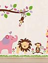 Vänliga Zoo Wall Sticker