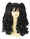 Black Curly Pigtail 50cm Classic Lolita Peruk