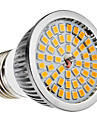 E27 6W 48x2835SMD 580-650LM 2700-3500K Warm White Light LED Spot Bulb (110-240V)