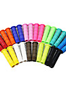 LG-F002 fixed gear Ultralight Grips en caoutchouc (couleurs assorties)
