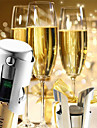 universella rostfritt stål champagne vinflaska propp