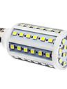 E27 10W 60x5050MD 800-900LM 6000-6500K LED-glödlampa med naturligt vitt lju (110/220V)