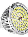6W GU5.3(MR16) Spot LED MR16 48 SMD 2835 650 lm Blanc Naturel DC 12 AC 12 V