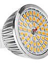6W GU5.3(MR16) Spot LED MR16 48 SMD 2835 520 lm Blanc Chaud DC 12 AC 12 V