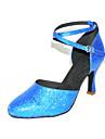 spumante de sclipici latină / sala de bal pantofi de dans personalizate (mai multe culori)