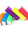 1st självlysande godis färg buffertblocket (slumpvis färg)