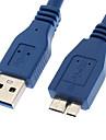 Câble Mâle USB 3.0 - Mâle Micro USB 3.0