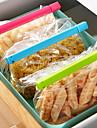 Colotful vide pinces d'étanchéité alimentaires (6-Pack)