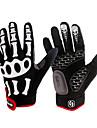 mode spakct fixation bande conçu en nylon respirant pleine doigts des gants-squelette