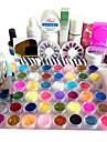 82PCS UV Gel Tips Nail Art Suit
