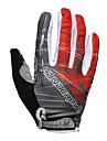 Édition gel de silice bicyclette de vélo complètes gants doigt spéciaux (couleurs assorties)