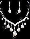 Set bijuterii Pentru femei Aniversare / Nuntă / Logodnă / Zi de Naștere / Cadou / Petrecere / Ocazie specială Set Bijuterii AliajImitație