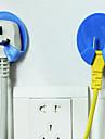 Plug Power Socket Hanger Fonction 2PC Hook (couleur aléatoire)