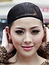 Confortable de haute qualité Cap perruque noire