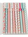 motif décoratif coloré jeu de stylo gel (10 pcs)