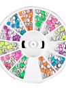 12 Färg Mini Rivet nagel konst Decoration