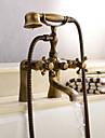 Centerset robinet en laiton antique baignoire