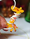 giraff gummi spolpinnens (slumpmässig färg)