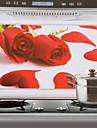 75x45cm Red Rose model rezistent la ulei rezistent la apa Bucătărie autocolant de perete