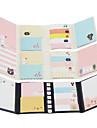 bande dessinée pliage autocollante Note ensemble (couleur aléatoire)