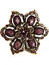 rafinat brosa floare stras femei (culoare aleatorii)