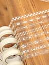 transparent spetsmönster tejp (slumpmässig färg)