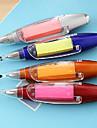 stylo auto-adhésive Note torche bille (couleur aléatoire)