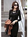 ol elegante rochii pentru femei cu maneca lunga
