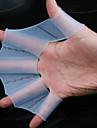 Stor Storlek 100% Silicon Simning Träna Webbed Handskar (2 st, färg Ramdon)