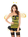 Des femmes sexy Busy Bee Jaune Costume (3 Pieces)