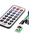 module récepteur IR kit de télécommande sans fil pour (pour Arduino) (1 x CR2025)