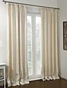 neoklassiska två paneler blommig botaniska beige sovrum polyester mörkläggningsgardiner draperier