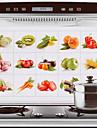 Haute qualité Cuisine Autocollants résistant à l'huileAluminium