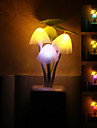 En forme de champignon coloré LED Night Light